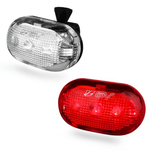 BV Bicycle 5-LED Headlight and Taillight