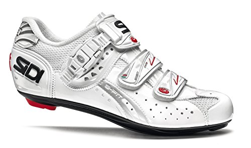 SIDI Genius 5 FIT Woman Carbon Road Cycling Shoes White White