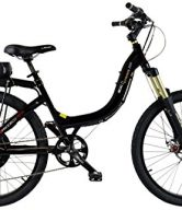 ProdecoTech v3.5 Stride 500 36V 500W 8 Speed 12Ah Li Ion Electric Bicycle, Black Pearl Metallic Gloss, 26-Inch/One Size