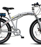 "ProdecoTech Genesis v5F 36V300W 8 Speed Electric Bicycle 10Ah Samsung Li ion, Brushed Aluminum, 18""/One Size"