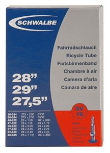 SCHWALBE Bicycle Tube with 40mm Presta Valve, 26 x 1-1.5-Inch