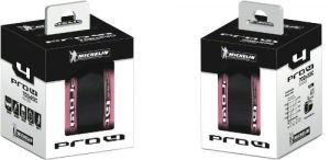 Michelin Pro4 Service Course Tires (Pink, 700c x 23-mm)