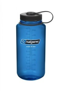 Nalgene 32-Ounce Wide Mouth, Blue with black
